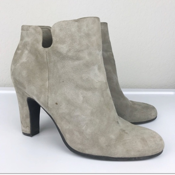 bc7e4fdd237a Sam Edelman Taupe Suede Leather Ankle Boots. M 5b10428d5512fdbcb4312dfb